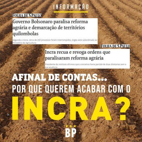 Extinção INCRA