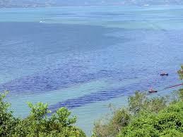 vazamento de combustível marítimo no píer do Terminal Almirante Barroso (Tebar)